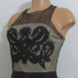 ⭐For Bundles Only⭐Mustard Seed Mesh Top Black S